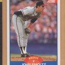 1989 Score Rookie John Smoltz Braves RC
