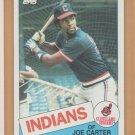 1985 Topps Rookie Joe Carter Indians