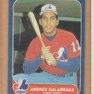 1986 Fleer Update Rookie Andres Galarraga Expos Rockies RC