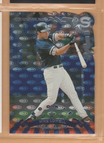1998 Donruss Silver Press Proof Rookie Mike Lowell Yankees RC