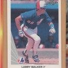 1990 Leaf Rookie Larry Walker Expos Rockies RC