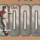 2000 Fleer Club 3000 Die Cut Stan Musial Cardinals
