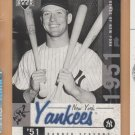 2001 UD Legends of New York #144 Mickey Mantle Yankees