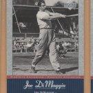 2001 Upper Deck Joe DiMaggio Series #JD17 Yankees