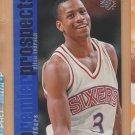 1996-97 Upper Deck SP Rookie Allen Iverson  Sixers RC