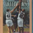1997-98 Topps Finest Rookie Silver Embossed #306 Tim Duncan Spurs RC