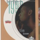 1997-98 UD Rookie Discovery 1 Tim Duncan Spurs RC
