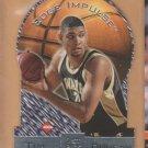 1997-98 Collector's Edge Impulse Die Cut Rookie Tim Duncan Spurs RC