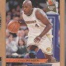1993-94 Fleer Ultra Rookie Chris Webber Warriors RC