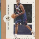 1998-99 UD SP Authentic First Class Rookie Vince Carter Raptors RC