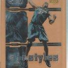 2000-01 UD Slam Air Styles Kevin Garnett Timberwolves