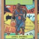 2002-03 Topps Chrome Coast to Coast Refractor Latrell Sprewell Knicks