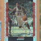 2004-05 Bowman Chrome Xfractor Tim Duncan Spurs /150