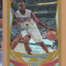 2004-05 Topps Chrome Gold Refractor Kenny Thomas 76ers /99