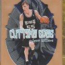 1999-00 Skybox Apex Cutting Edge Die Cut Jason Williams Kings