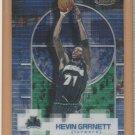2000-01 Topps Finest Kevin Garnett Timberwolves