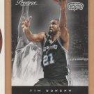 2012-13 Prestige Tim Duncan Spurs