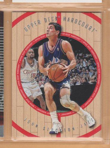 1998-99 Upper Deck Hardcourt John Stockton Jazz
