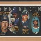 1996 Topps Rookie Andrew Jones Braves