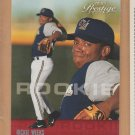 2003 Playoff Prestige Rookie Rickie Weeks Brewers RC