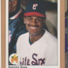 1990 Upper Deck Rookie Sammy Sosa White Sox Cubs RC