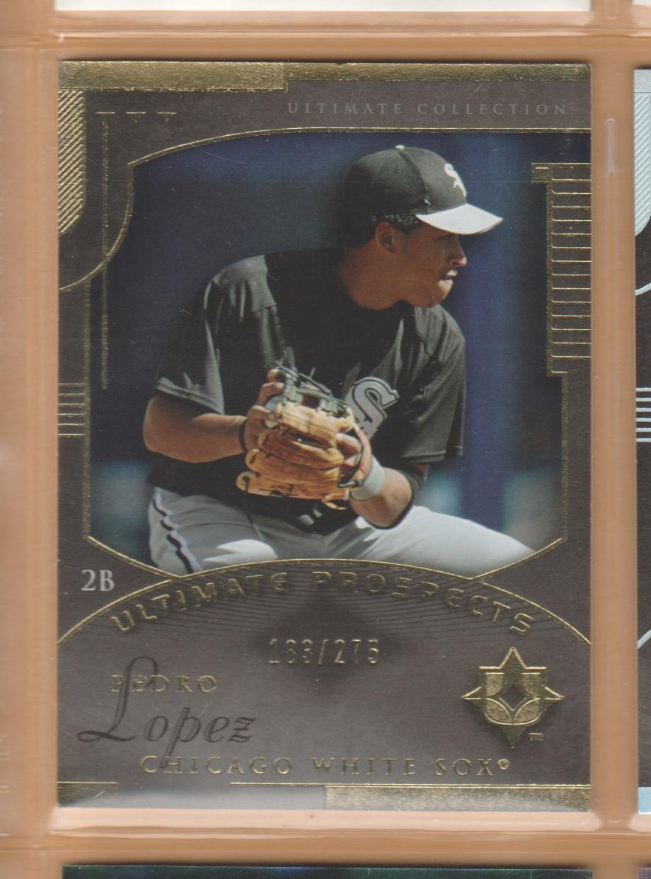 2005 Upper Deck Ultimate Collection Rookie Pedro Lopez White Sox RC /275
