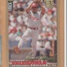 1995 UD Collectors Choice SE Gold Signature Fernando Valenzuela Phillies
