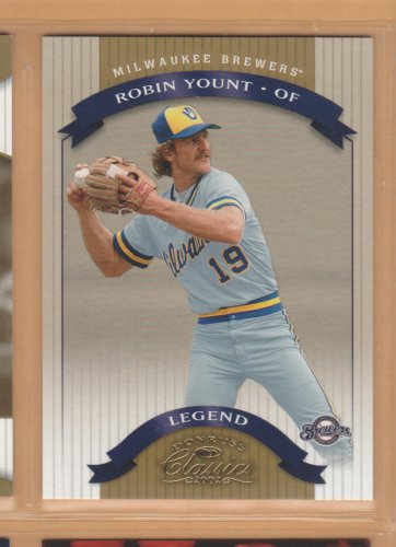 2002 Donruss Classics Legend SP Robin Yount Brewers 0012/1500