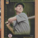 2001 Topps Golden Anniversary Golden Greats Ted Williams Red Sox