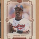 2000 Upper Deck Faces of the Game Manny Ramirez Indians