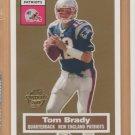 2005 Topps Turn Back the Clock #6 Tom Brady Patriots