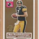 2005 Topps Turn Back the Clock #11 Ben Roethlisberger Steelers