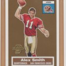 2005 Topps Turn Back the Clock #16 Alex Smith RC Chiefs 49ers Rookie