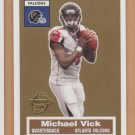 2005 Topps Turn Back the Clock #15 Michael Vick Falcons