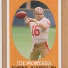 2007 Topps Turn Back the Clock #16 Joe Montana 49ers