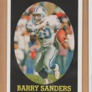 2007 Topps Turn Back the Clock #20 Barry Sanders Lions