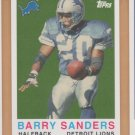 2008 Topps Turn Back the Clock #10 Barry Sanders Lions