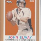 2008 Topps Turn Back the Clock #22 John Elway Broncos