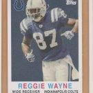 2008 Topps Turn Back the Clock #36 Reggie Wayne Colts