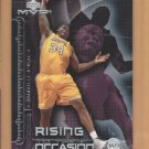 2002-03 Upper Deck MVP Rising to the Occasion Shaqulle O'Neal Lakers