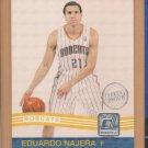 2010-11 Donruss Press Proof Eduardo Najera Bobcats /100