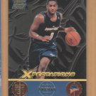 2001-02 Topps Xpectations Rookie Gilbert Arenas Warriors RC