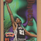 1997-98 Skybox Z-Force Rookie Tim Duncan Spurs RC