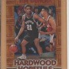 1997-98 Stadium Club Hardwood Hopefuls Rookie Tim Duncan Spurs RC