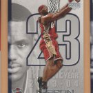 2005-06 Upper Deck ROY #LJ12 Lebron James Cavaliers