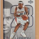 2005-06 Upper Deck ROY #LJ36 Lebron James Cavaliers