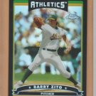 2006 Topps Chrome Black Refractor Barry Zito Athletics /549