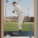 2002-03 Upper Deck UD Superstars #152 Mickey Mantle Yankees
