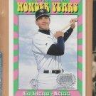 1999 Upper Deck Wonder Years Alex Rodriguez Mariners