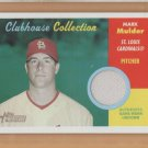 2006 Topps Heritage Clubhouse Collection Game Worn Jersey Mark Mulder Cardinals